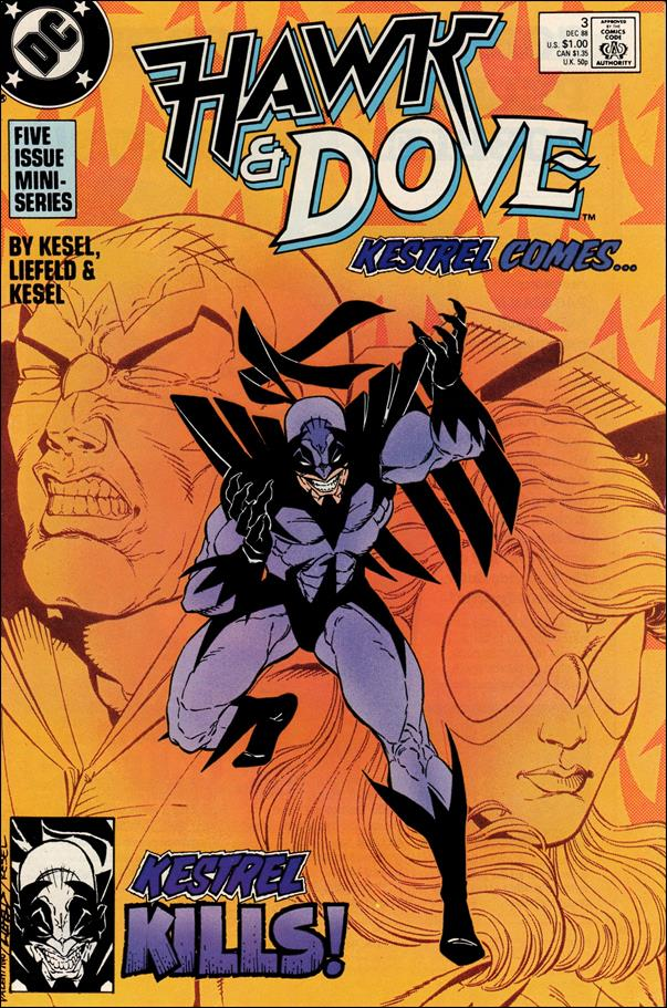 Hawk and Dove (1988) 3-A by DC