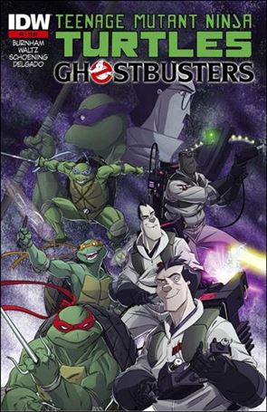 Teenage Mutant Ninja Turtles / Ghostbusters 1-J
