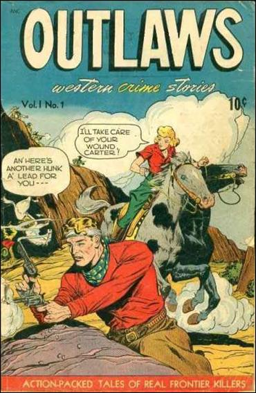 Outlaws (1948) 1-A by D.S. Publishing