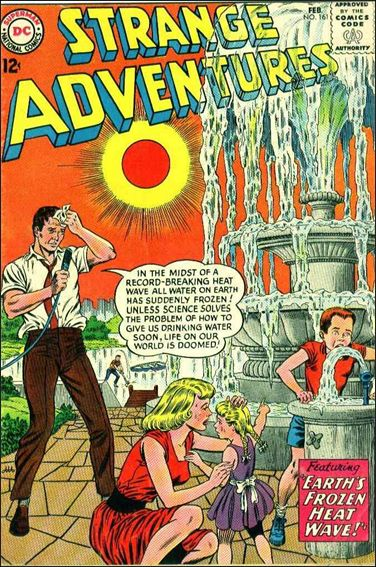 Strange Adventures (1950) 161-A by DC