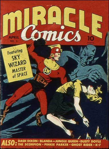 Miracle Comics 3-A by Hillman