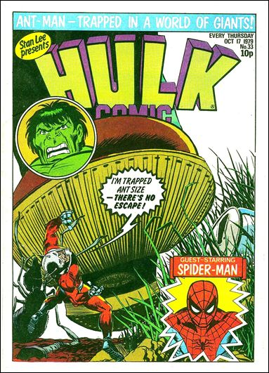 Hulk Comic (UK) 33-A by Marvel UK