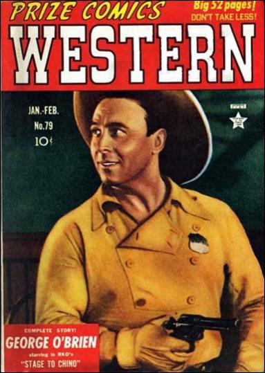 Prize Comics Western 79-A by Feature