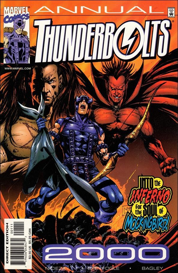 Thunderbolts Annual 2000-A by Marvel