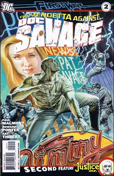 Doc Savage (2010) 2-A by DC