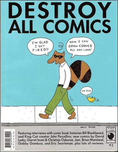 Destroy All Comics 3-A by Slave Labor Graphics (SLG) Publishing