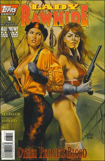 Lady Rawhide (1996) 1-A by Topps