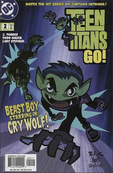 Teen Titans Go! (2004) 2-A by DC