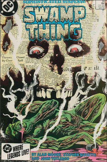 Saga of the Swamp Thing 35-A by DC