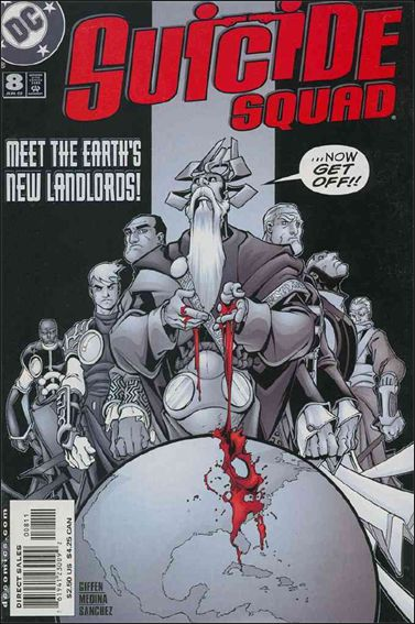 Suicide Squad (2001) 8-A by DC