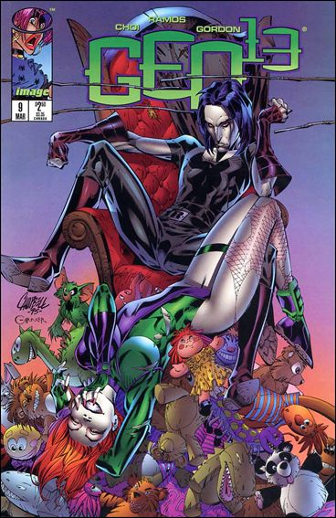 Gen13 (1995) 9-A by WildStorm