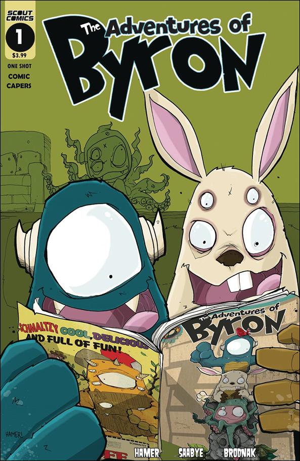 Adventures of Byron: Comic Capers 1-A by Scout Comics