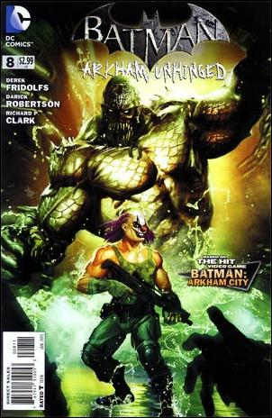 Batman: Arkham Unhinged 8-A by DC