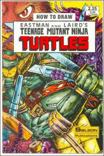 How to Draw Teenage Mutant Ninja Turtles 1-A by Solson