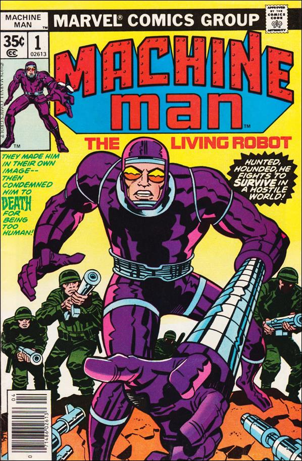 Machine Man (1978) 1-A by Marvel