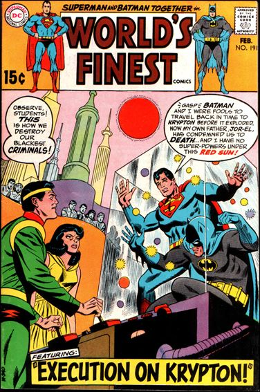 World's Finest Comics 191-A by DC