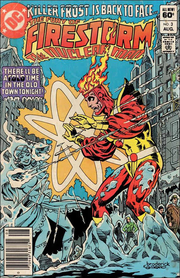 Fury of Firestorm 3-A by DC
