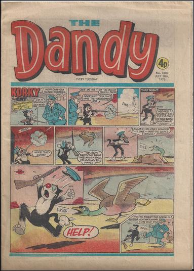 Dandy (UK) 1807-A by D. C. Thomson