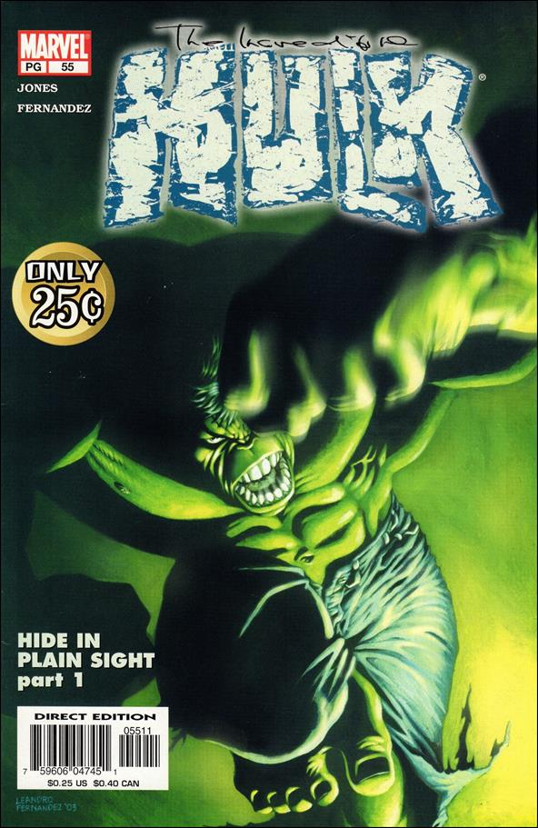 Incredible Hulk (2000)  55-A by Marvel