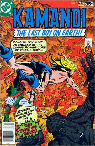 Kamandi, the Last Boy on Earth 56-A by DC
