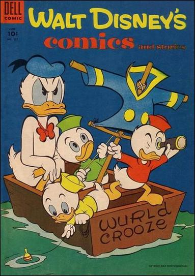 Walt Disney's Comics and Stories (1940) 177-A by Dell