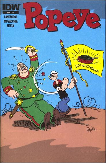 Popeye (2012) 4-A by IDW
