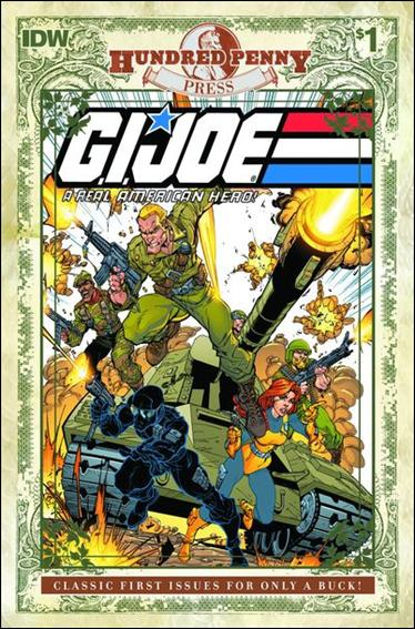 G.I. Joe: A Real American Hero 1-C by IDW