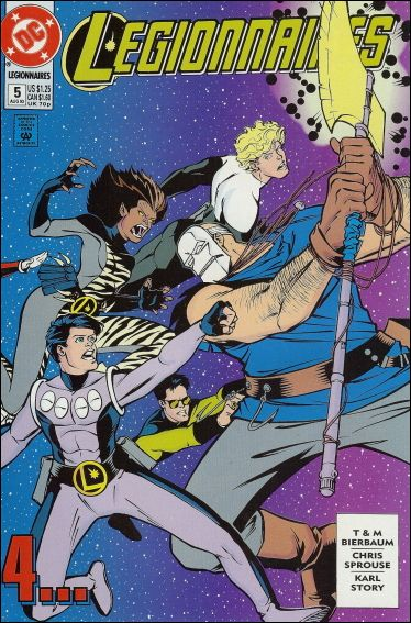 Legionnaires 5-A by DC