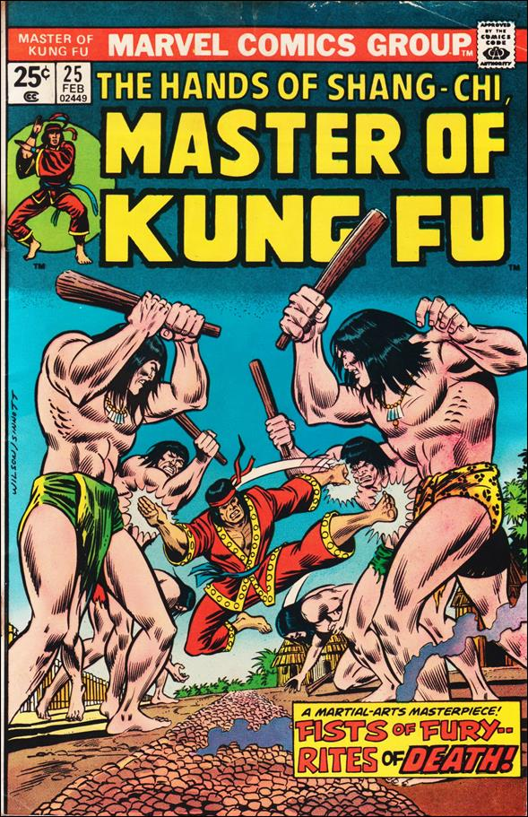 Master of Kung Fu 25-A by Marvel