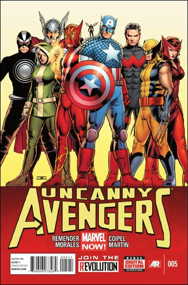 Uncanny Avengers 5-A by Marvel