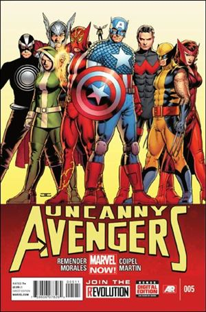 Uncanny Avengers (2012) 5-A