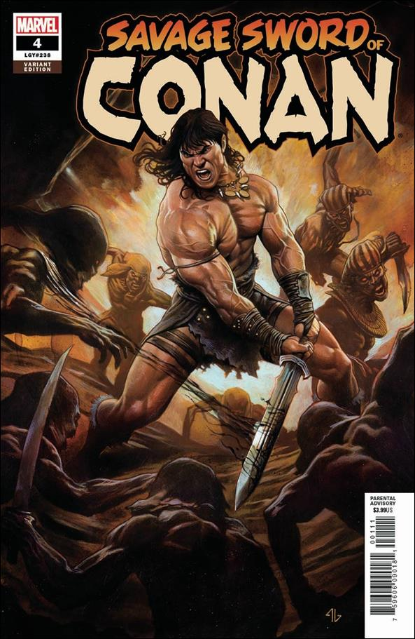 Savage Sword of Conan (2019) 4-B by Marvel