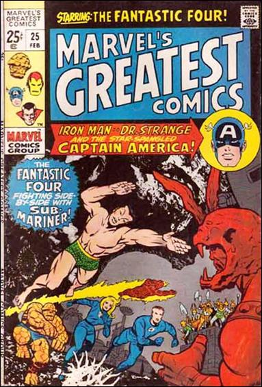 Marvel's Greatest Comics 25-A by Marvel