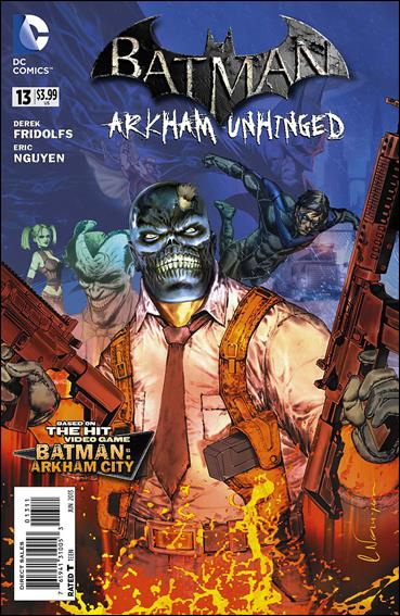 Batman: Arkham Unhinged 13-A by DC