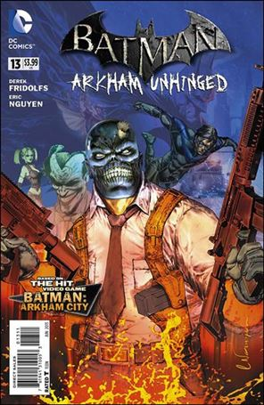 Batman: Arkham Unhinged 13-A