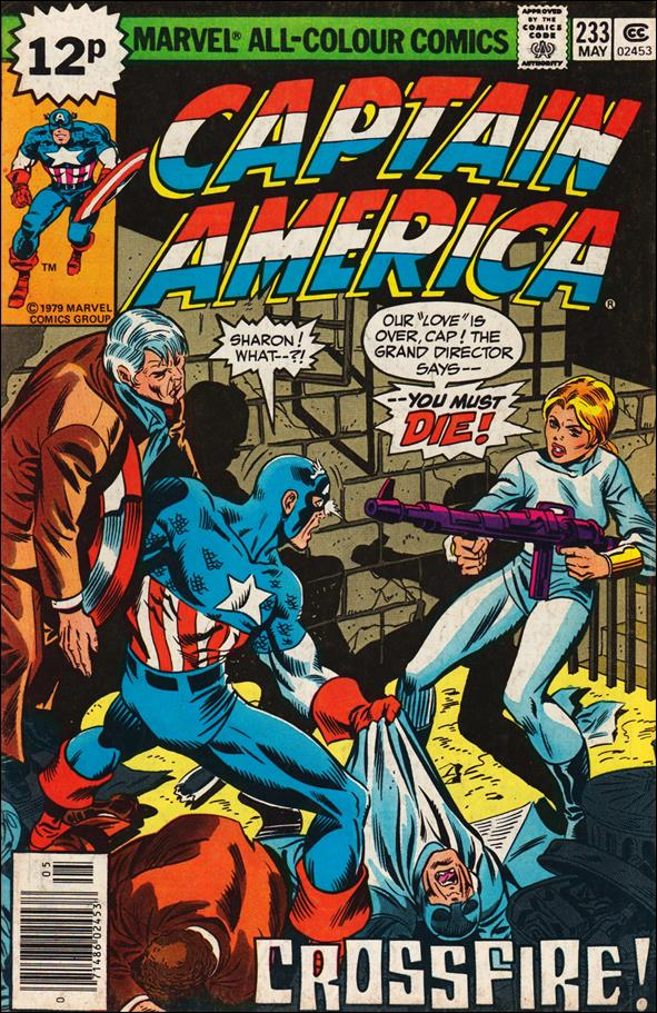 Captain America (1968) 233-B by Marvel
