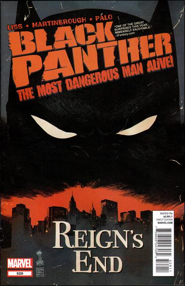 Black Panther: The Most Dangerous Man Alive  529-A by Marvel