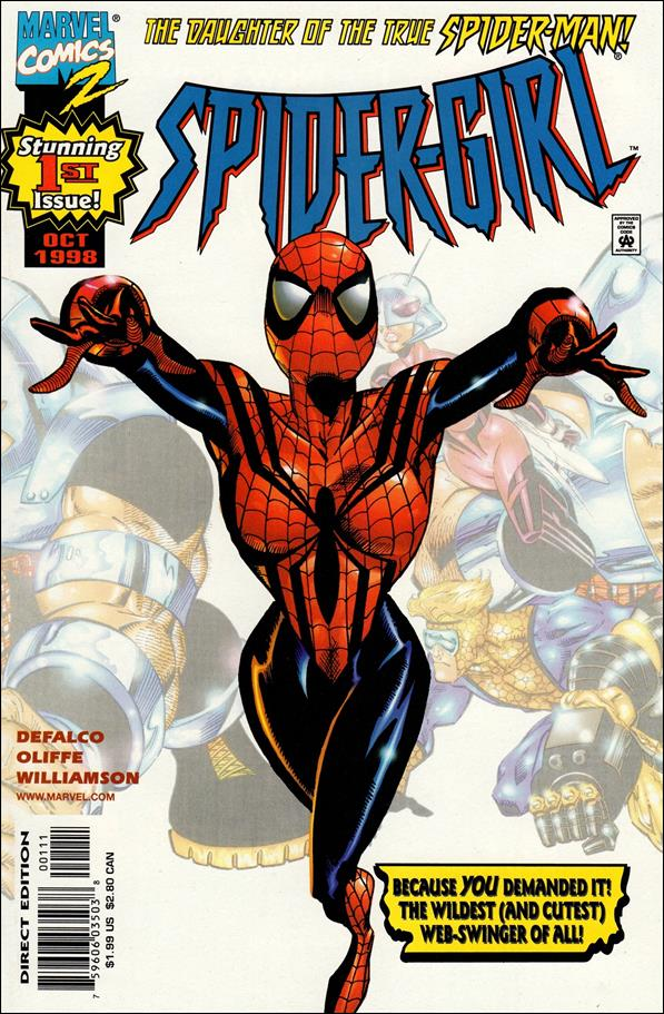 Spider-Girl (1998) 1-A by Marvel