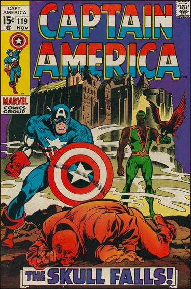 Captain America (1968) 119-A by Marvel