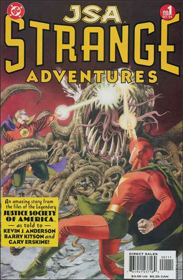 JSA Strange Adventures 1-A by DC