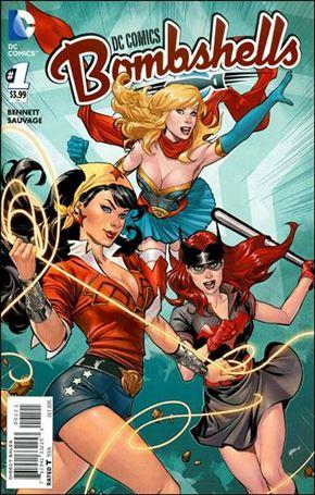 DC Comics Bombshells  1-B