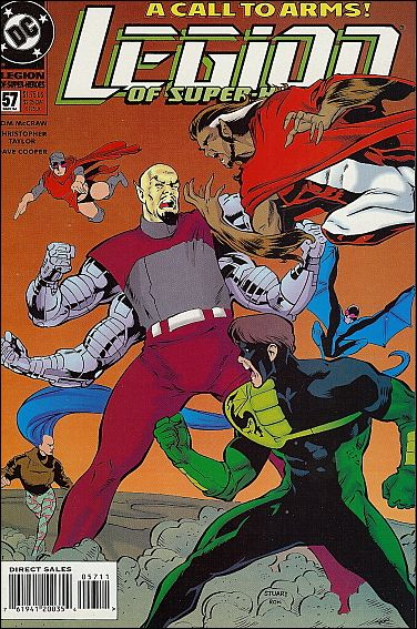 Legion of Super-Heroes (1989) 57-A by DC