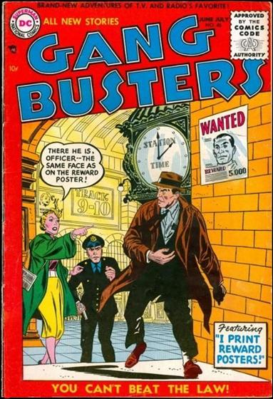Gangbusters 46-A by DC