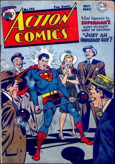 Action Comics (1938) 113-A by DC