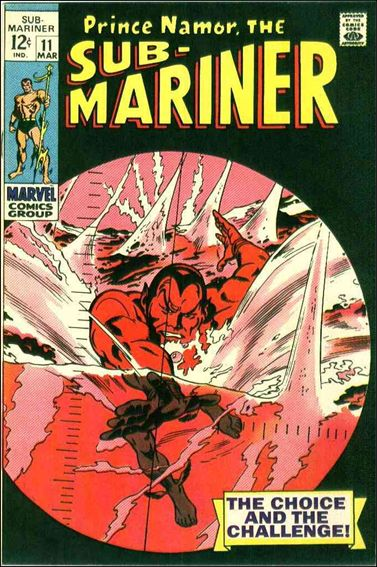 Sub-Mariner (1968) 11-A by Marvel