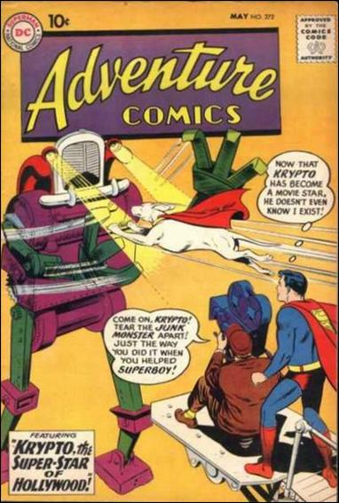 Adventure Comics (1938) 272-A by DC