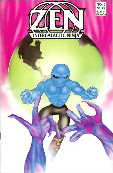 Zen Intergalactic Ninja (1987) 5-A by Zen Comics