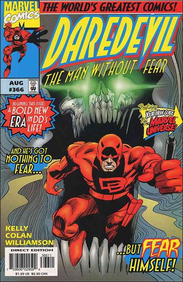Daredevil (1964) 366-A by Marvel