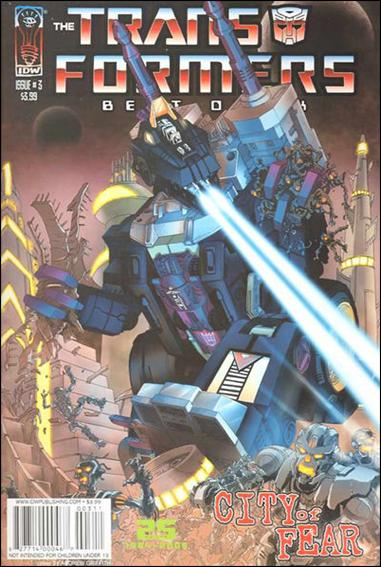 Transformers - Best of the UK - City of Fear 3-A by IDW