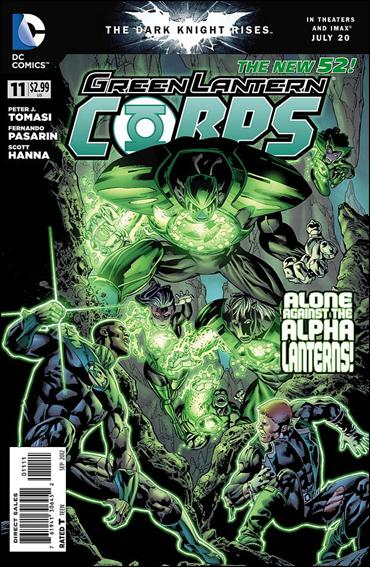 Green Lantern Corps (2011) 11-A by DC